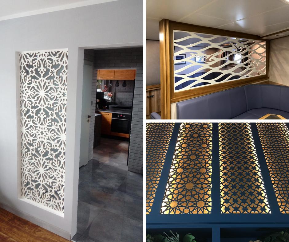 Panele Ażurowe Decopanel Dekoracyjne Ażurowe ściany 3d Na