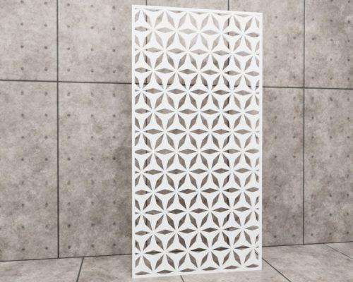 Geometric Acrobat, panel ażurowy geometryczny, panel ażurowy Decopanel