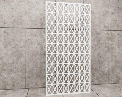 Geometric Cages, panel ażurowy geometryczny, panel ażurowy Decopanel