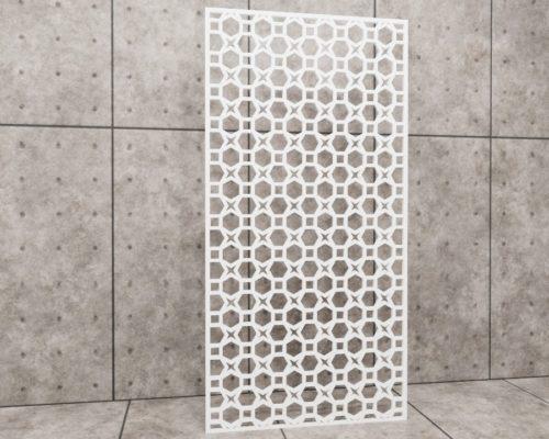 Geometric Candle, panel ażurowy geometryczny, panel ażurowy Decopanel