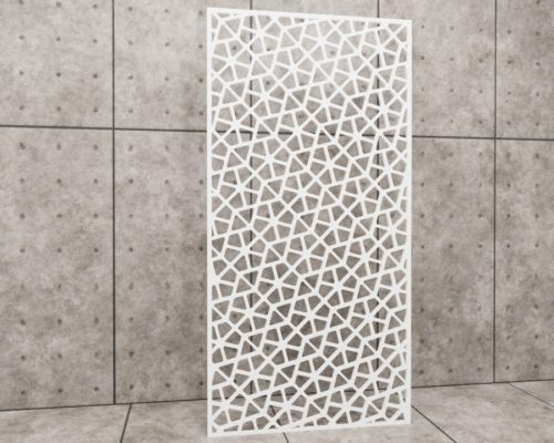 Geometric Husky, panel ażurowy geometryczny, panel ażurowy Decopanel