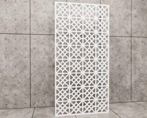 Geometric Impress, panel ażurowy geometryczny, panel ażurowy Decopanel
