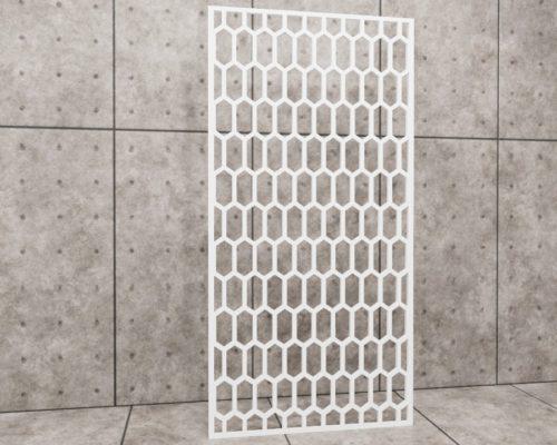Geometric Memo, panel ażurowy geometryczny, panel ażurowy Decopanel