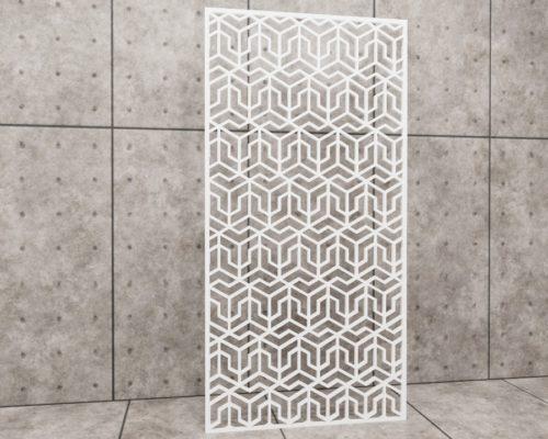 Geometric Paving, panel ażurowy geometryczny, panel ażurowy Decopanel