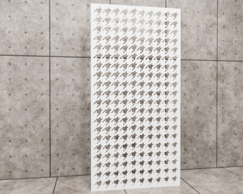 Geometric Pepity, panel ażurowy geometryczny, panel ażurowy Decopanel