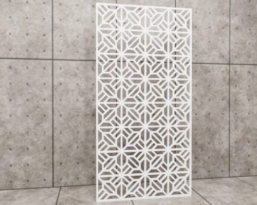Geometric Regular, panel ażurowy geometryczny, panel ażurowy Decopanel