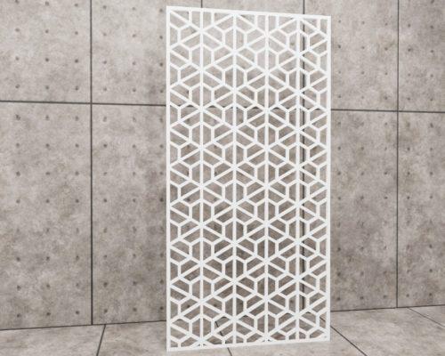 Geometric Similar, panel ażurowy geometryczny, panel ażurowy Decopanel