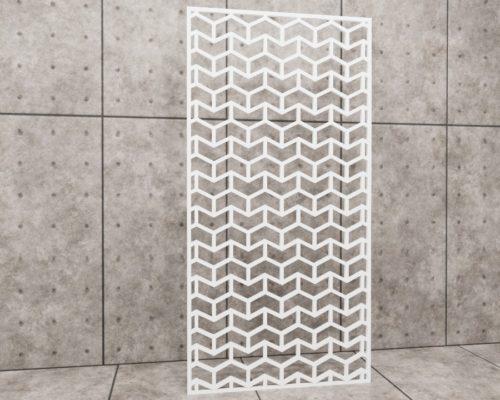 Geometric Tile, panel ażurowy geometryczny, panel ażurowy Decopanel