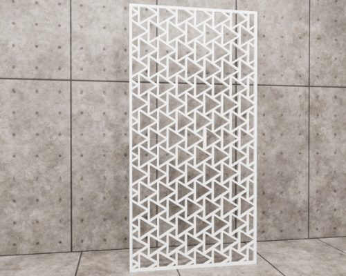 Geometric Wizard, panel ażurowy geometryczny, panel ażurowy Decopanel