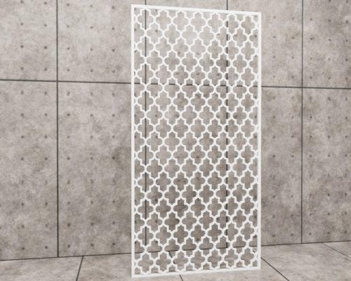 Oriental Pillar, panel ażurowy Decopanel, panele orientalne, ażur marokański, koniczyna marokańska