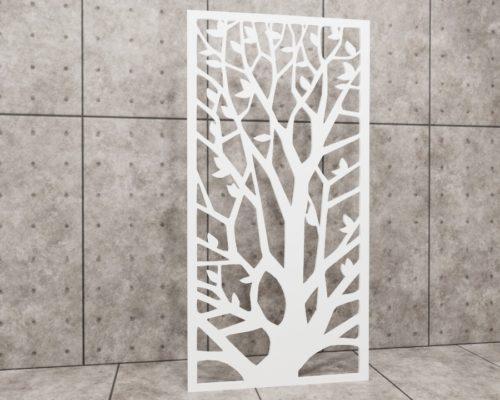 Primavera Melody, panel ażurowy Decopanel, ażur drzewo, panel drzewo, ażur liście