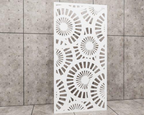Primavera Mulino, panel ażurowy Decopanel, ażur koła