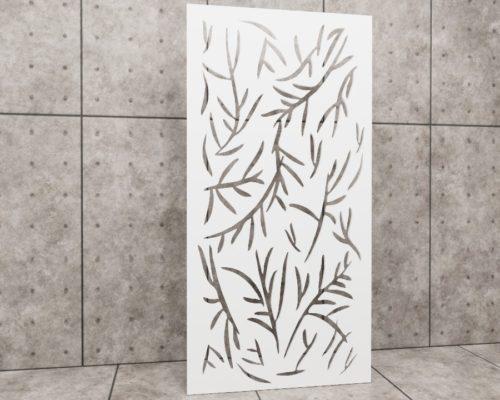 Primavera Rosmarino, ażur liście, ażur natura, panel ażurowy Decopanel