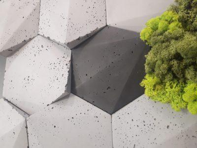 beton 3d, beton decopanel, beton architektoniczny, szary beton, beton na ścianę, płytki betonowe
