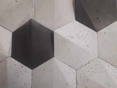 beton architektoniczny, beton 3D, czarny beton, beton do wnętrza, beton w mieszkaniu