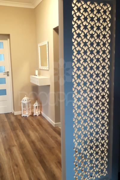 ścianka działowa dekoracyjna, ażury dekoracyjne, ażury decopanel, panele wycianne cnc