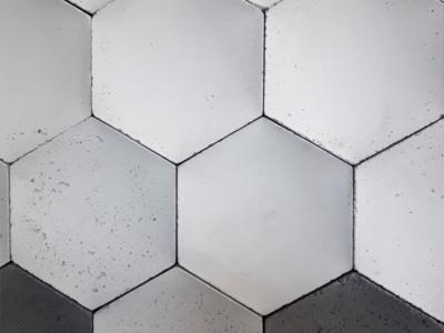 heksagon decopanel,sześciokąty na ścianę, decopanel beton architektoniczny 3d