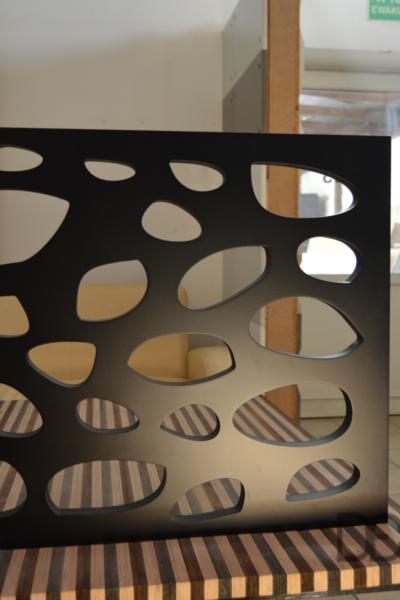panele azurowy według projektu