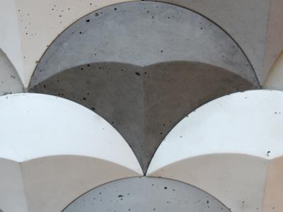 tear płytki betonowe 3d, płytki łezki beton decopanel, beton 3D