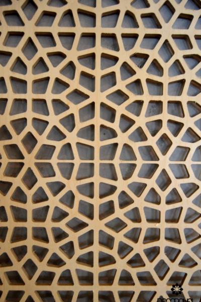 wzór islamic, panele ażurowe, decopanel