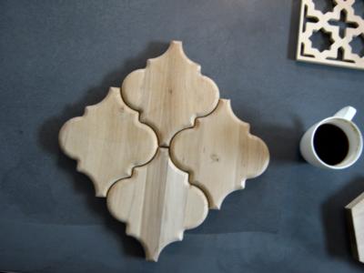 wzór oreirntalny, panel inpire decopanel, drewniany panle 3d, marokański wzór