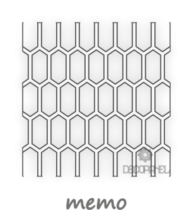 simple memo, panel ażurowy decopanel, producent ażurów, decopanel